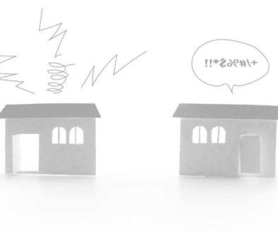 Distance réglementaire entre deux maisons